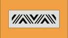 Wandschablone 671-2